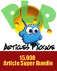 15,000 MONSTER PLR ARTICLE PACKAGE! The Most Massive