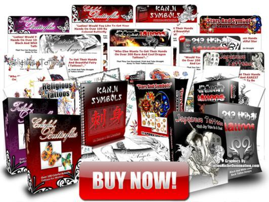 Product picture 9 TATTOO DESIGN EBOOKS + + RESALE RESELL RIGHTS