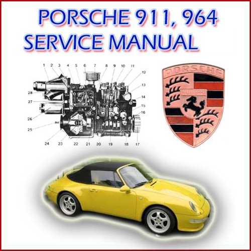 Product picture Porsche 911 , 964 Service / Repair Manual